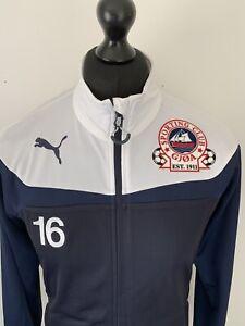Puma Sporting Club GJØA New York Retro Soccer Blue White Tracksuit Jacket Top M
