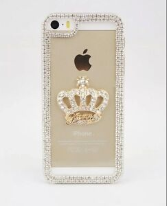 E034-Beautiful-Love-Crown-Bling-Crystal-Diamond-Hard-Case-for-Samsung-iPhone-AU