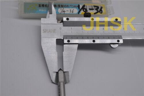 2pcs  1//4-36 HSS TAP TAPS Right helix Inch MACHINE TAP 1//4-36UNEF S