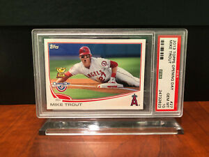 2013 Topps Opening Day #27 Mike Trout PSA 10 Rookie Cup - POP 55