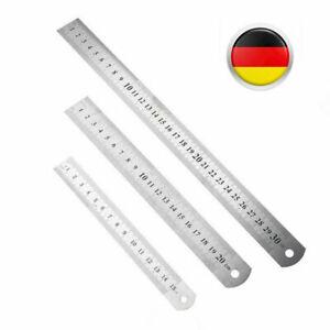 Stahllineal Stahlmaßstab Metalllineal Lineal Werkstattlineal 150mm 200mm 300mm