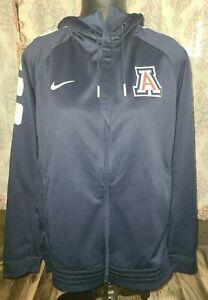 Nike-Men-039-s-L-Arizona-Wildcats-Elite-Basketball-Full-Zip-Jacket-Hoodie-835379