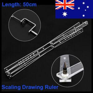 Drawing-Enlarger-Reducer-Measure-Tool-Plexiglass-Artist-Pantograph-Copy-Craft-AU