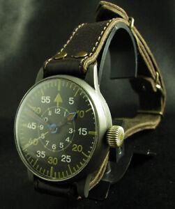 Details zu Lange & Söhne WW2 Flieger Uhr, Pilot Watch, B Uhr 2.WK