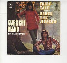 "SP Turkish Blend Yacine and Malik ""Fairy tale"" duo pop algérien 1972 comme NEUF"