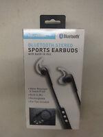 Soundlogic Xt Bluetooth Stereo Earbuds/headphones W/ Mic New/sealed/box Damaged