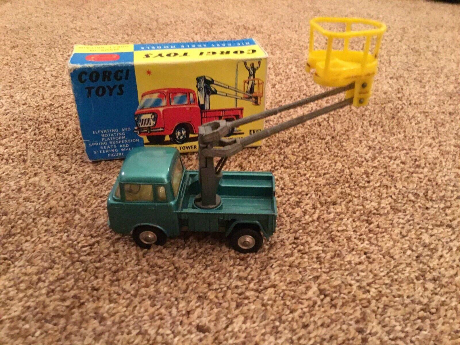 Corgi Toys.... JEEP FC-150 HYDRAULIC TOWER WAGON (478)...1 43 Scale