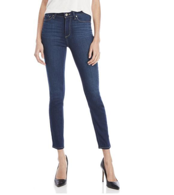 179 Paige Hoxton High Rise Skinny Ankle Jeans Duvall Wash 1767765-617 Sz 28 NWT