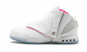 47f8caa5410 New Air Jordan XVI 16 Retro Solefly Art Basel White Pink Teal Size ...