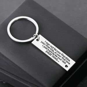 I-May-Not-Be-Your-First-Date-Couple-Boyfriend-Girlfriend-Key-Ring-Keychains