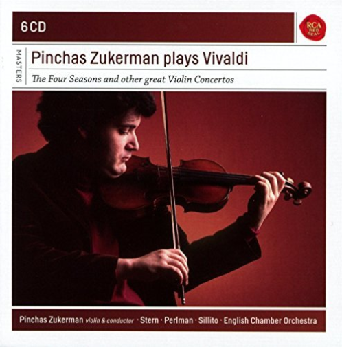 Pinchas Zukerman-Zukerman Plays Vivaldi CD NEW