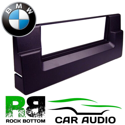 BMW X5 E53 2000 en adelante Single Din coche estéreo Radio Fascia Facia Panel