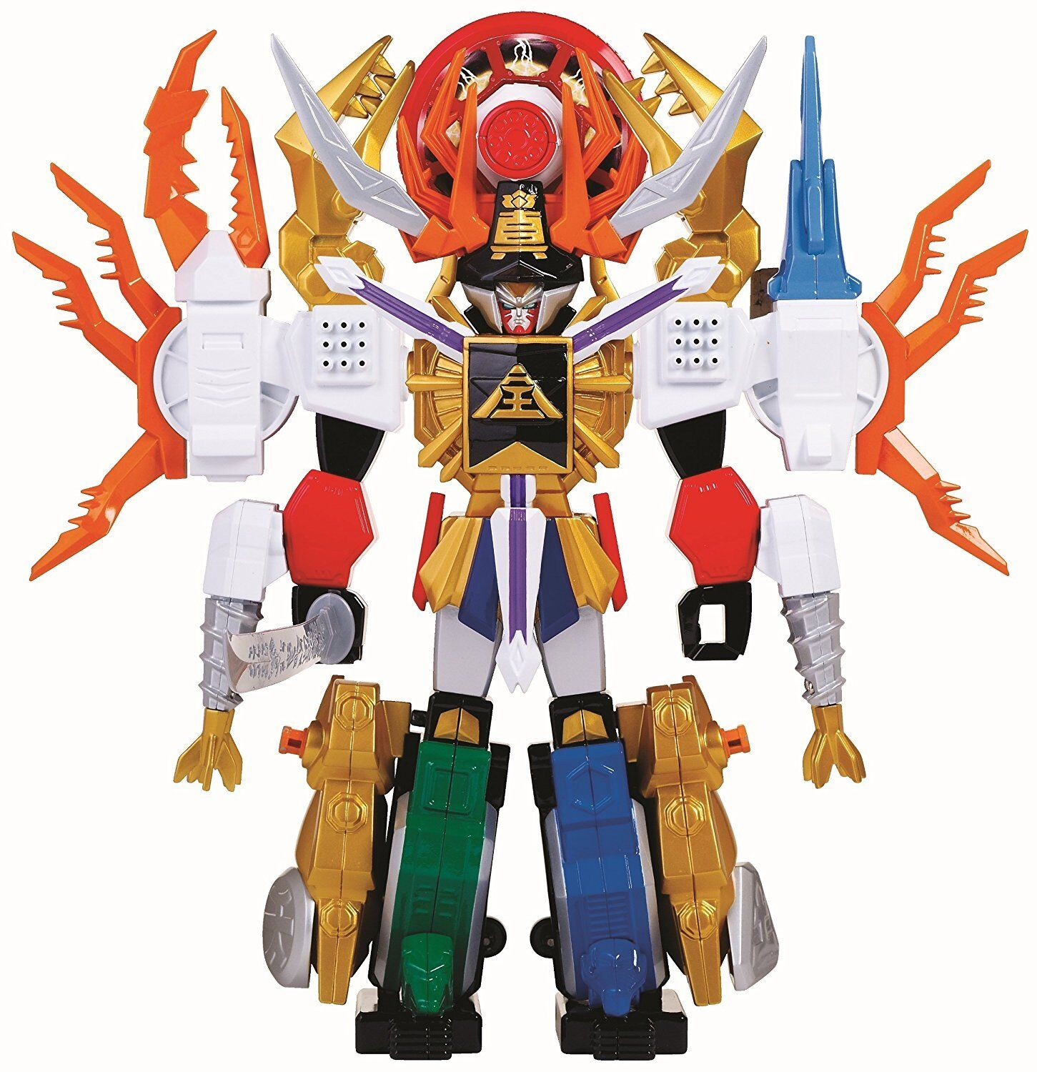 Mighty Morphan Power Rangers Deluxe Megazord Samurai Gigazord Action Figures New