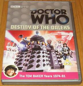 Doctor-Who-DVD-Destiny-of-the-Daleks-Excellent-Condition