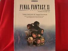 Final Fantasy XI 11 Piano Sheet Music Collection Book