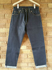 Levis Vintage Clothing LVC Blue Raw 1962 551z Selvedge Zip Jean W34 L35 £225 NEW