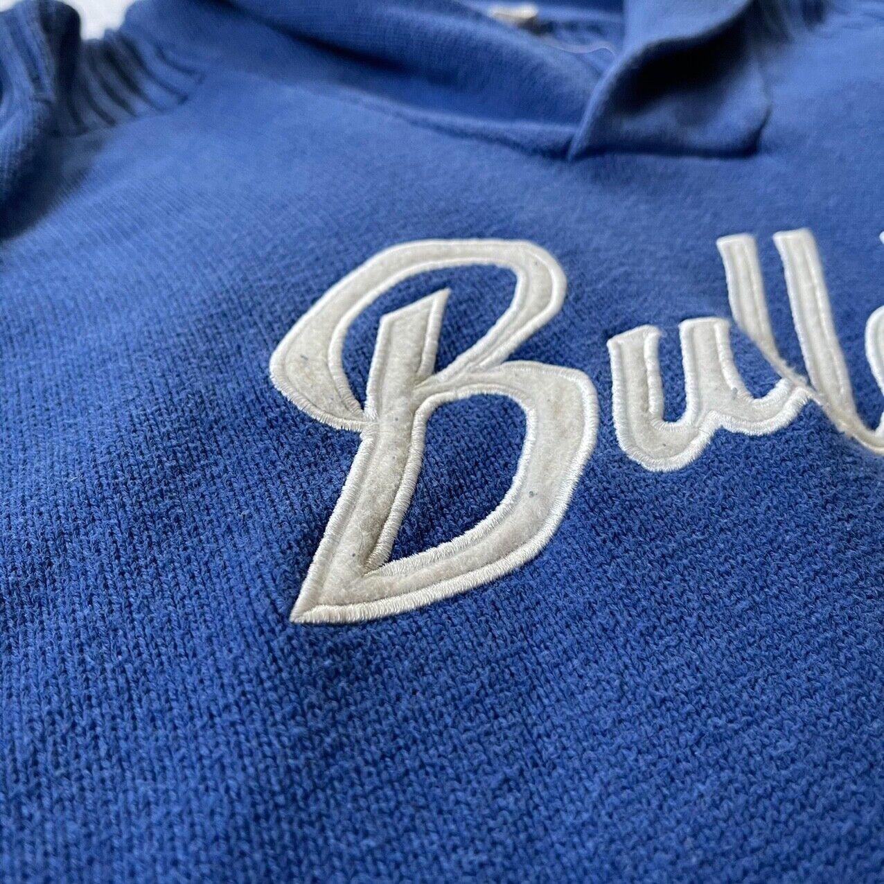 1896 Vintage Bulldogs Varsity Sweater  - image 2