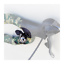 Osaka-Roadie-Clip-Ping-Bicycle-Bell-Silver-Mounts-to-Handlebar-Shift-Brake-Cable miniature 1