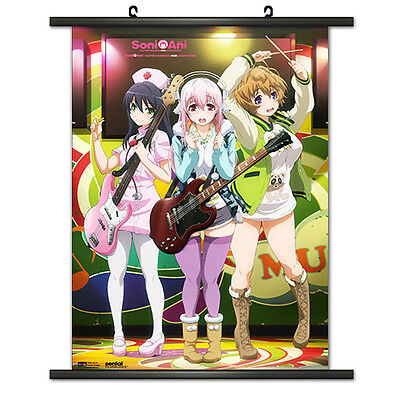 "8/""*12/""Hot Japan Anime Decor Super Sonico Home Decor Wall poster Scroll 0315"