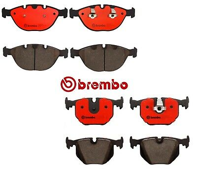 For BMW E53 X5 4.6is 4.8is Front Ceramic Disc Brake Pad Set Pads Brembo P06028N