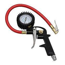 Milton Exel Air Tire Inflator Deflator Gauge locking Chuck 0-150 PSI #EX0500P