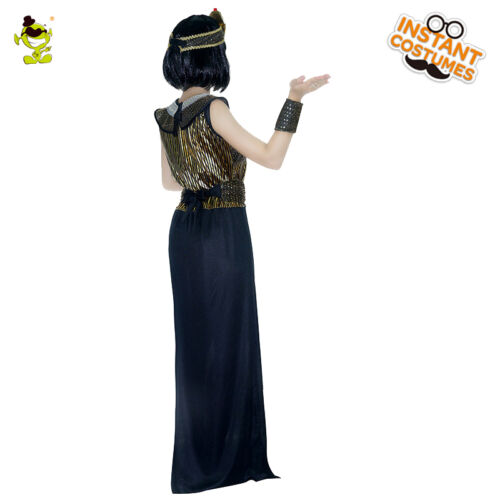 Ancient Egyptian Cleopatra Costume Women Masquerade Noble Egypt Queen Cosplay