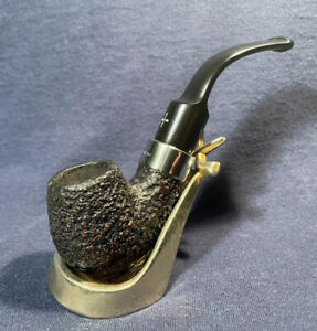 Barling MEERSCHAUM! fantastico Bent biliardo estate pipe in RANDA con