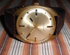 Alte Herren ⌚ EUSI Automatik Uhr vergoldet Vintage Watch Automatic 60er Jahre