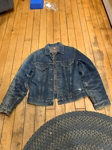 Vintage-Levis-Big-E-Denim-Jacket-Blanket-Lined-Blue-Jean
