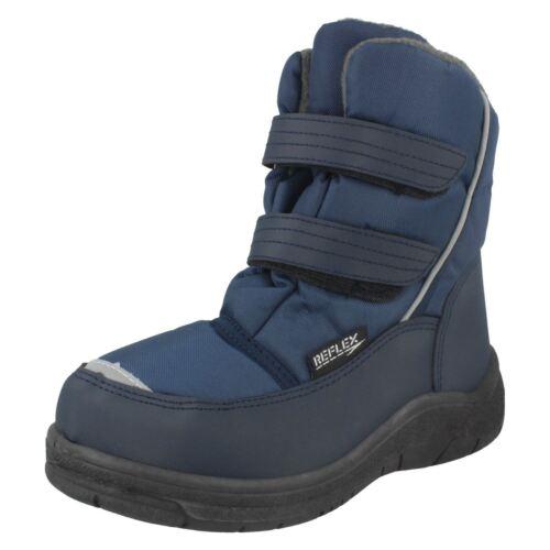 Boys N2012 snow boots Navy Blue by REFLEX £14.99