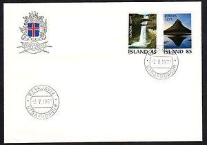 ISLANDA-1977-FDC-Europa-CEPT