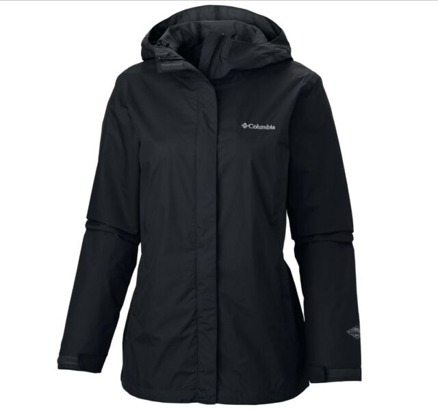 3a6e89fed6a Columbia Arcadia II Plus Size 2x Black Rain Jacket   for sale online ...