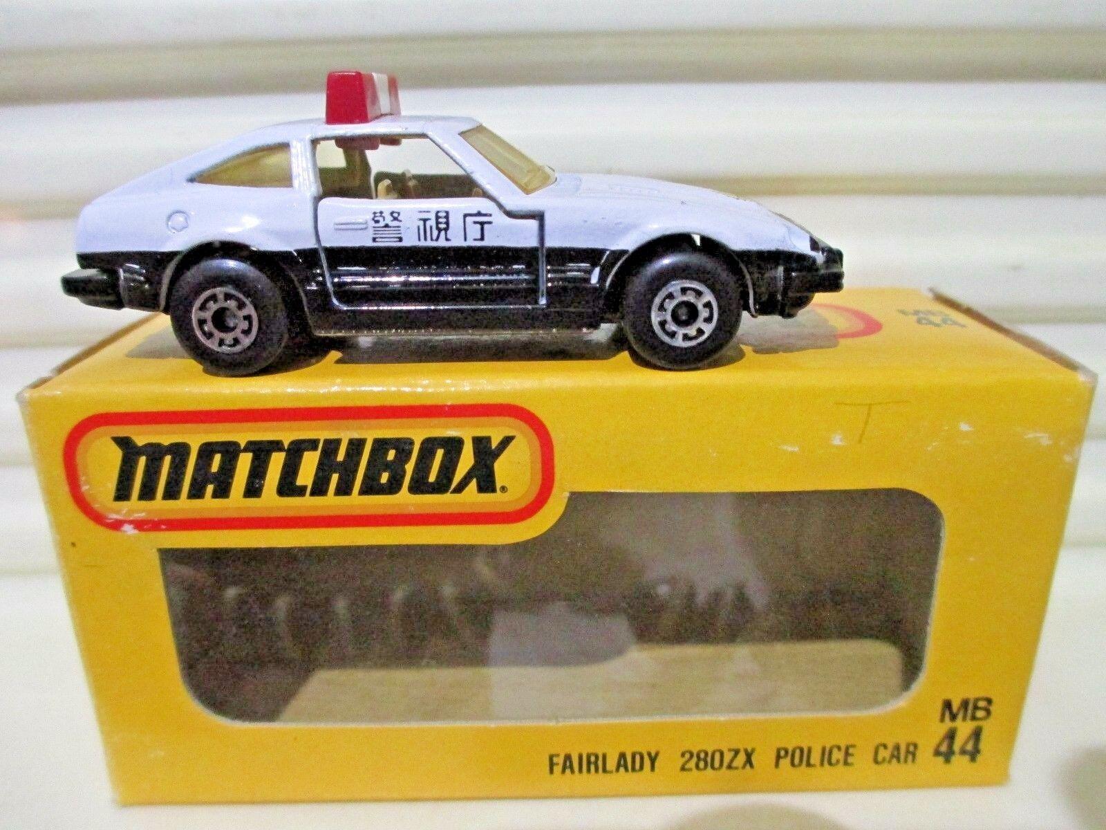 Matchbox Superfast Japan Issue J-44  MB24E DATSUN FAIRLADY 280ZX 2+2 POLICE Car