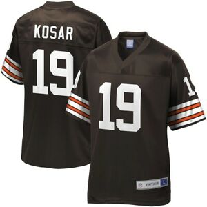 Details about Bernie Kosar Cleveland Browns Men's Pro Line Retired Player Jersey Size L - New