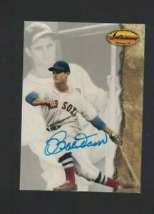 Bobby Doerr Boston Red Sox Signed 1994 Ted Williams Co. Baseball Card W/Our COA