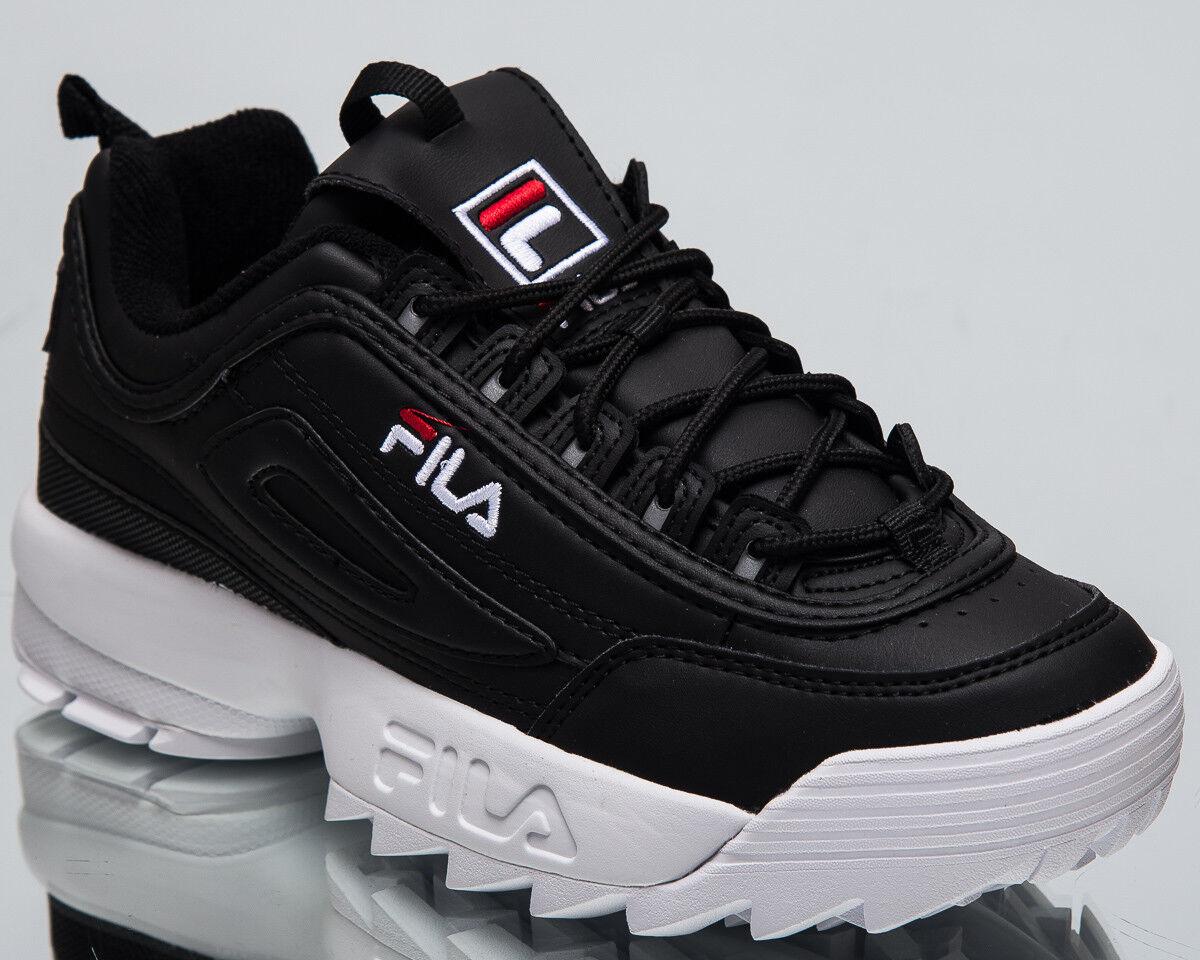 Fila Donna disgregatori basso Lifestyle scarpe nere bianche 2018 scarpe da ginnastica