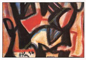 CP-ART-TABLEAU-JEAN-MICHEL-ATLAN-Peinture