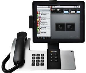 Shoretel-Dock-D100-L-IP-Phone-Apple-iPhone-iPad-iPod-Docking-Station-New-BS3