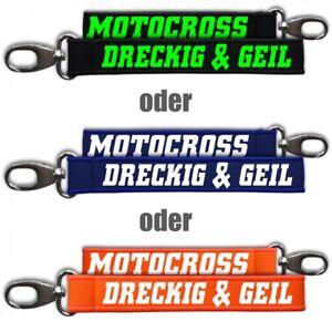 RüCksichtsvoll Neopren Schlüsselanhänger Schlüsselband Motocross Moto Cross Enduro Schlüsselanh Kaufe Jetzt Uhren & Schmuck