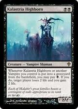 KALASTRIA HIGHBORN Worldwake MTG Black Creature — Vampire Shaman RARE