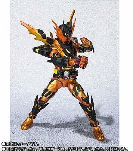 Japan new S.H.Figuarts Masked Kamen Bandai Rider Build CROSS-Z MAGMA figure