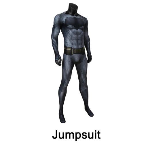 Batman Costume Cosplay Suit Bruce Wayne Batman v Superman Dawn of Justice 3D