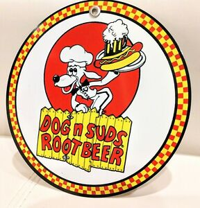 Dog and Suds restaurant fast food Sign