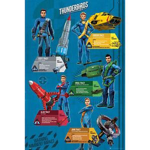 Thunderbirds-Are-Go-Profiles-POSTER-61x91cm-NEW-Scott-Virgil-Gordon-Tracy