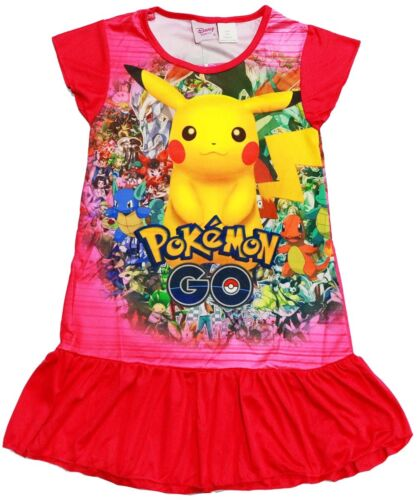 NEW SZ 48 KIDS SUMMER PYJAMAS POKEMON GO BOYS SLEEPWEAR CHILDREN NIGHTIE PJ PJS