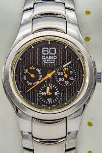 Casio Edifice EF307 (Casio vintage 38mm) Jour Date 24H 6  76ncw