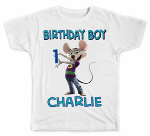 Image Is Loading Personalized Chuck E Cheese Birthday Boy T Shirt