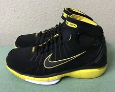 769973153f706 -Nike Air Zoom Huarache 2K4 Black Maize Yellow Mens Sz 6  Women s Sz 7.5  NEW!!!  109.99. + 10.00 shipping. Nike Zoom Streak LT 2 Size 13 M (D) EU  47.5 ...