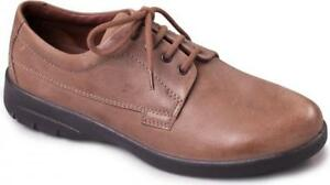 padders lunar mens leather laceup wide/ extra wide