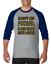 Gildan-Raglan-T-shirt-3-4-sleeve-Don-039-t-Be-Fooled-Just-Look-Like-I-Care-S-M-L-XL thumbnail 1